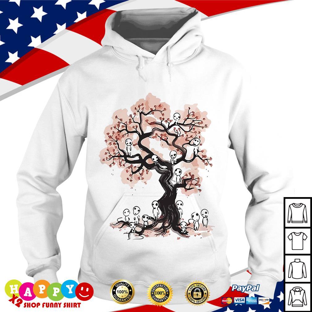 Aliens in willow tree shirt Hoodie