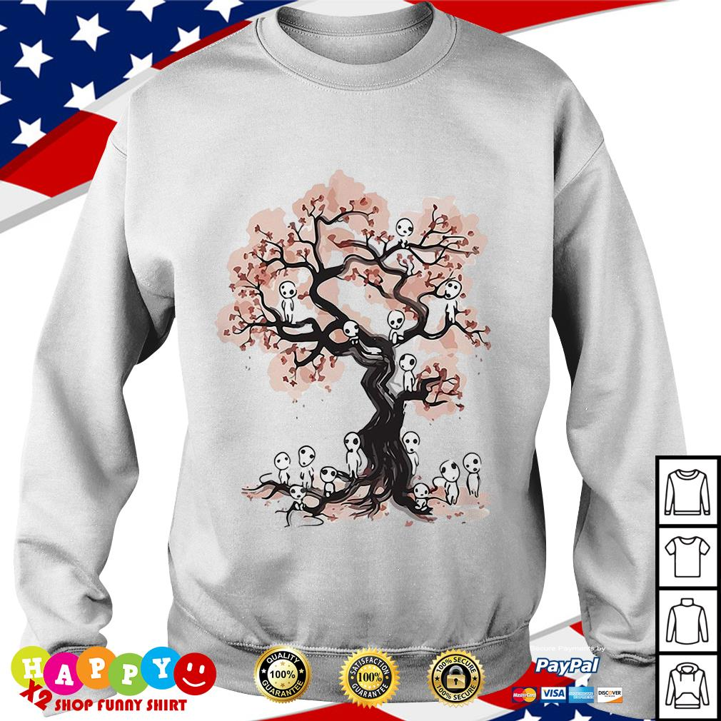 Aliens in willow tree shirt Sweater
