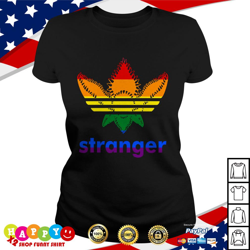 LGBT Stranger Things Adidas Stranger shirt by T shirtat