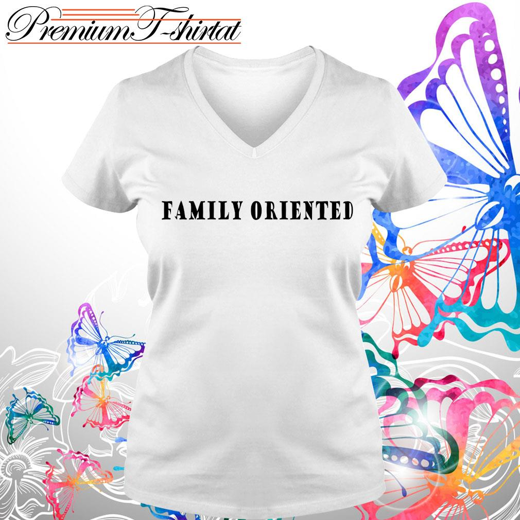 Official family oriented s V-neck t-shirt