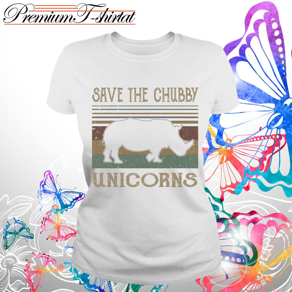 Vintage save the Chubby Unicorns shirt