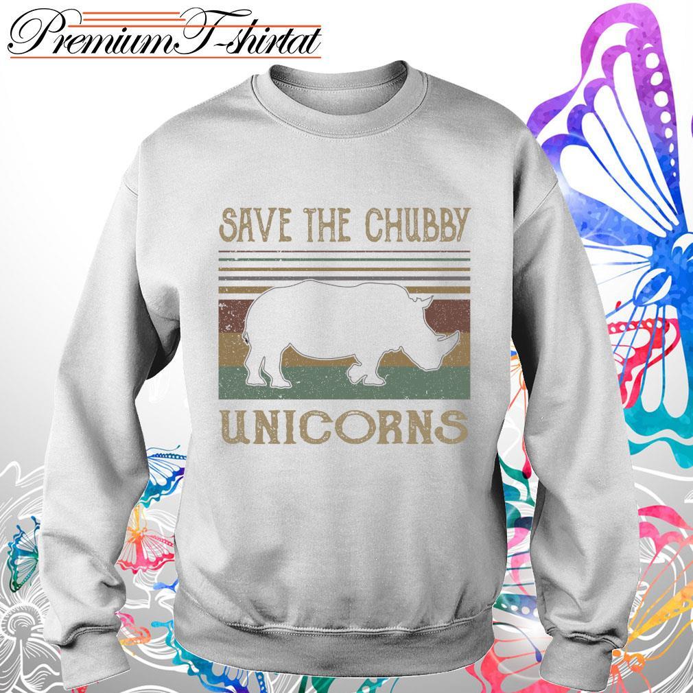 Vintage save the Chubby Unicorns s Sweater