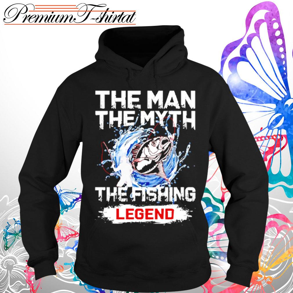 Your name the man the myth the fishing legend shirt